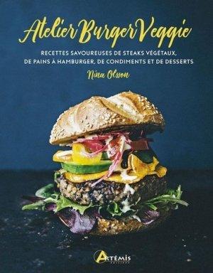 L'atelier burger veggie - Artémis - 9782816015393 -