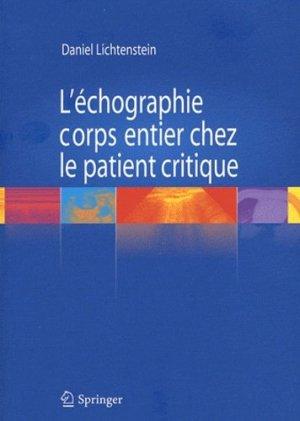 L'échographie corps entier chez le patient critique - springer - 9782817802268 - https://fr.calameo.com/read/004967773b9b649212fd0