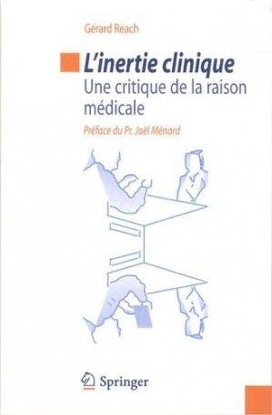 L'inertie clinique - springer verlag - 9782817803128 -