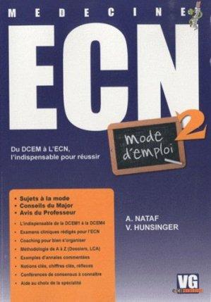 L' ECN mode d'emploi 2 - vernazobres grego - 9782818300947 -