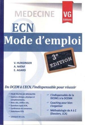 L' ECN mode d'emploi 3 - vernazobres grego - 9782818306253 -