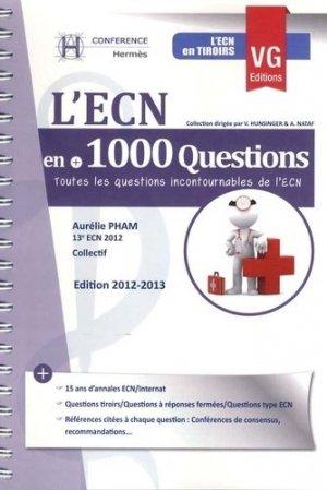 L'ECN en +1000 questions - vernazobres grego - 9782818306857 -