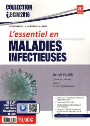 L'essentiel en maladies infectieuses - vernazobres grego - 9782818313527 -