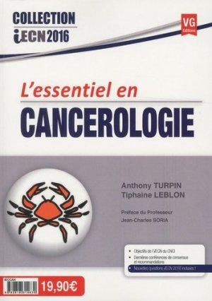 L'essentiel en Cancérologie - vernazobres grego - 9782818314630 -