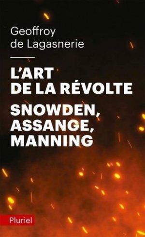 L'art de la révolte - Hachette Pluriel Editions - 9782818505991 -