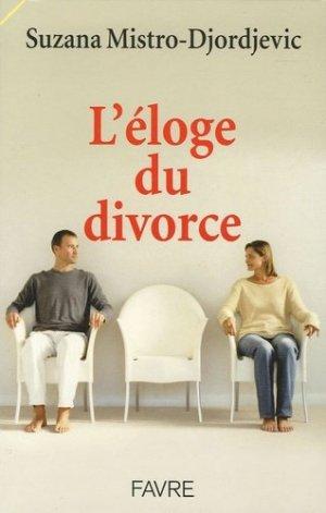 L'éloge du divorce - favre - 9782828908676 -
