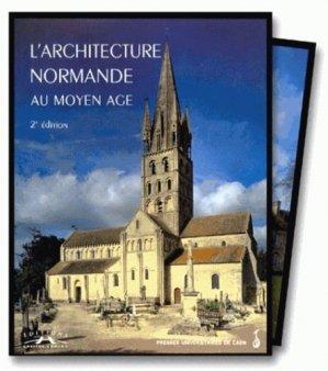 L'Architecture normande au Moyen Âge - corlet - 9782841331321 -
