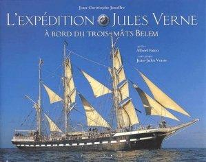 L'expédition Jules Verne à bord du Trois-Mâts Belem - equinoxe - 9782841353521 -