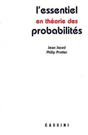 L'essentiel en théorie des probabilités - cassini - 9782842250508 -