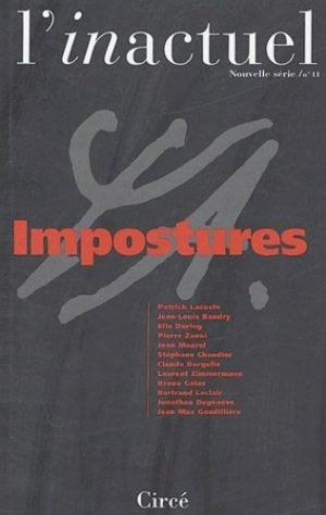 L'inactuel N° 11 : Impostures - Circé - 9782842421731 -