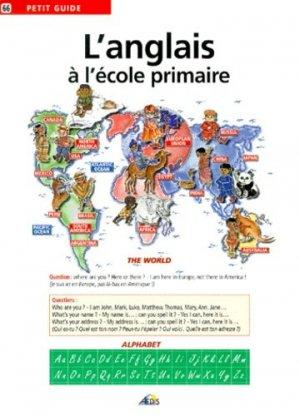 L'anglais à l'école primaire - Aedis - 9782842590956 -