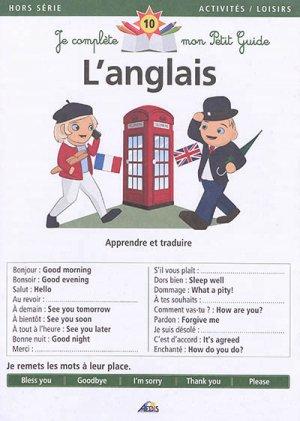L'anglais : apprendre et traduire - aedis - 9782842599263 -