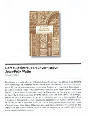 L' art du peintre, doreur vernisseur - pulm - 9782842695965 -