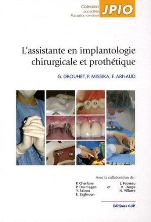 L'assistante en implantologie chirurgicale et prothétique - cdp - 9782843611285 - https://fr.calameo.com/read/004967773f12fa0943f6d