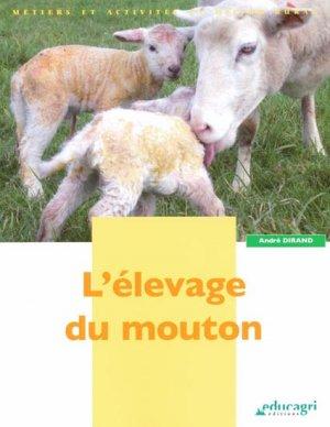 L'élevage du mouton - educagri - 9782844445605