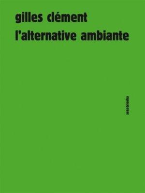 L'alternative ambiante - sens et tonka - 9782845342378