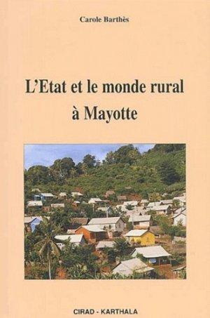 L'État et le monde rural à Mayotte - karthala / cirad - 9782845863545 -