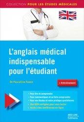 L'anglais médical indispensable pour l'étudiant-med-line-9782846782005