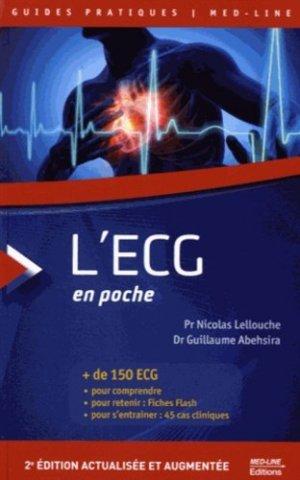 L'ECG en poche - med-line - 9782846782050 -