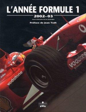 L'Année Formule 1. Edition 2002 - Chronosports - 9782847070118 -