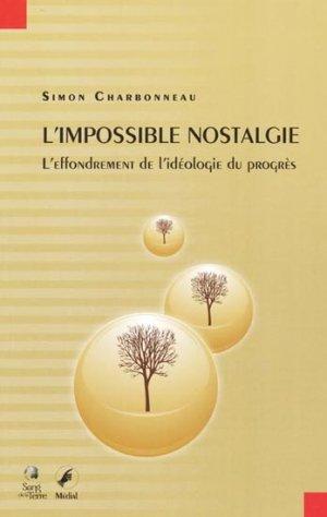 L'impossible nostalgie - sang de la terre - 9782847300147 -