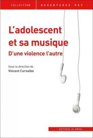 L'adolescent et sa musique - in press - 9782848355207