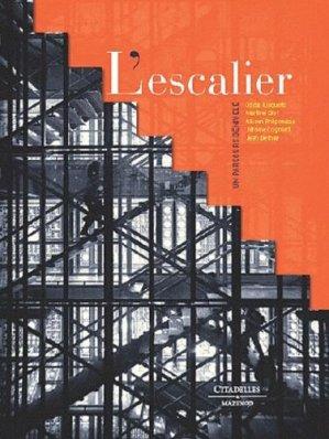 L'escalier - citadelles et mazenod - 9782850885419 -