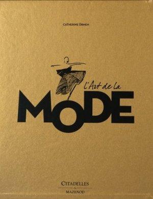 L'art de la mode - citadelles et mazenod - 9782850886423 -