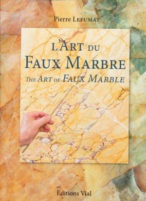 L'Art du Faux Marbre - vial - 9782851011343 -