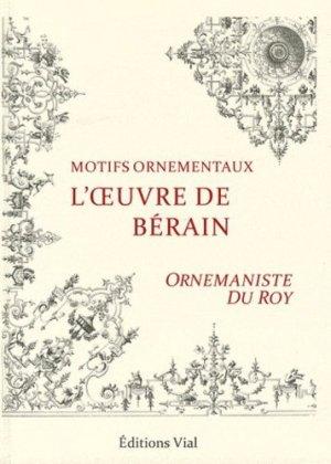 L'oeuvre de Bérain - vial - 9782851011619 -