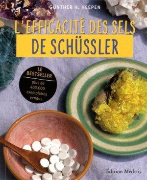 L'efficacité des sels de Schüssler - medicis - 9782853276009 -