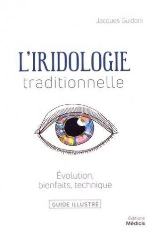 L'iridologie traditionnelle - médicis - 9782853276825