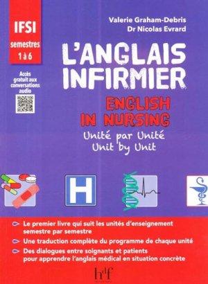 L'anglais infirmier - heures de france - 9782853853293