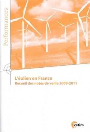 L'éolien en France - Centre techniques des industries mécaniques - 9782854009323 -