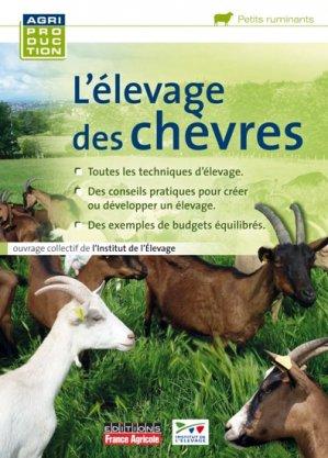 L'élevage des chèvres - france agricole - 9782855572161