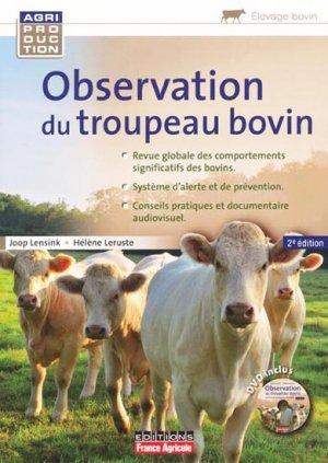 L'observation du troupeau bovin - france agricole - 9782855572383 -
