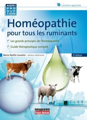 L'homéopathie pour les ruminants - france agricole - 9782855572475 -