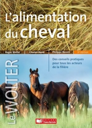 L'alimentation du cheval - france agricole - 9782855572659 -