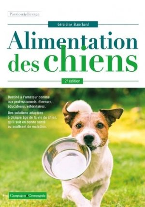L'alimentation du chien - Editions France Agricole - 9782855576503 -