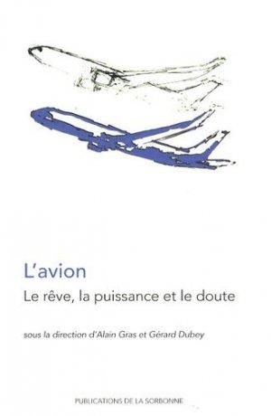 L'avion - publications de la sorbonne - 9782859446277 -