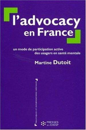 L'advocacy en France - EHESP - 9782859529222 -