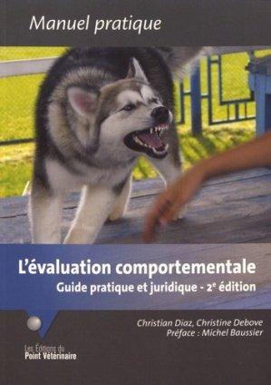 L' Évaluation comportementale - du point veterinaire - 9782863263723 -