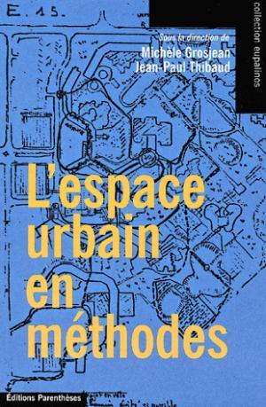 L'espace urbain en méthodes - parentheses - 9782863646243 -