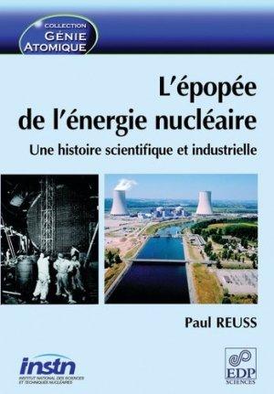 L'épopée de l'énergie nucléaire - EDP Sciences - 9782868838803 -