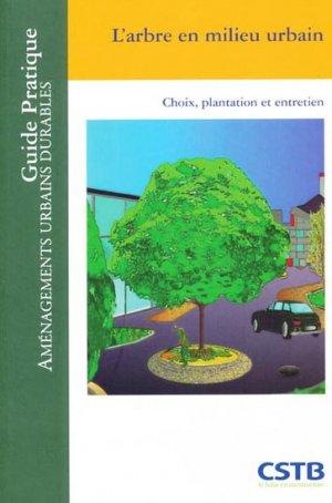 L'arbre en milieu urbain - cstb  - 9782868914729 -