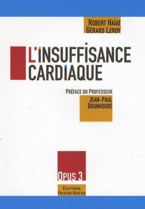 L'insuffisance cardiaque - frison roche - 9782876714878 -