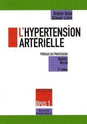 L'hypertension artérielle - frison roche - 9782876715196