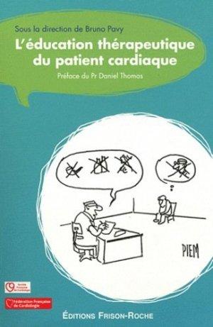 L'éducation therapeutique du patient cardiaque - frison roche - 9782876715561 -