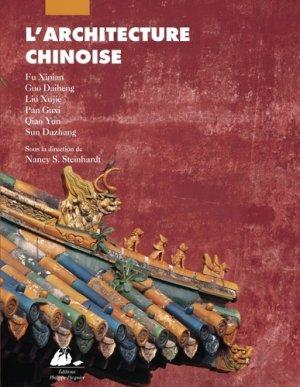 L'Architecture chinoise - philippe picquier - 9782877307895 -