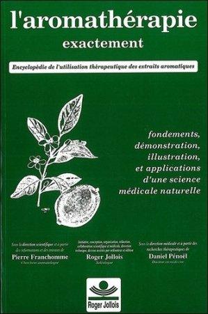 L'aromathérapie exactement - roger jollois - 9782878190014 -